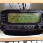 Kenwood TM-D710 in weather station mode