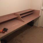 New desk radio room finished