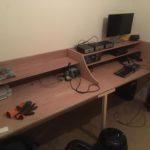 Placing equipment radio room